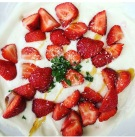 Powerfood Joghurt mit Erdbeeren