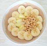 Powerfood mit Joghurt und Obst
